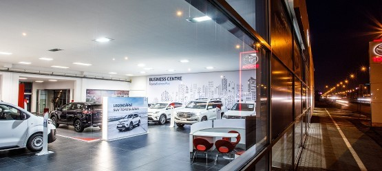 Business centrum Toyota